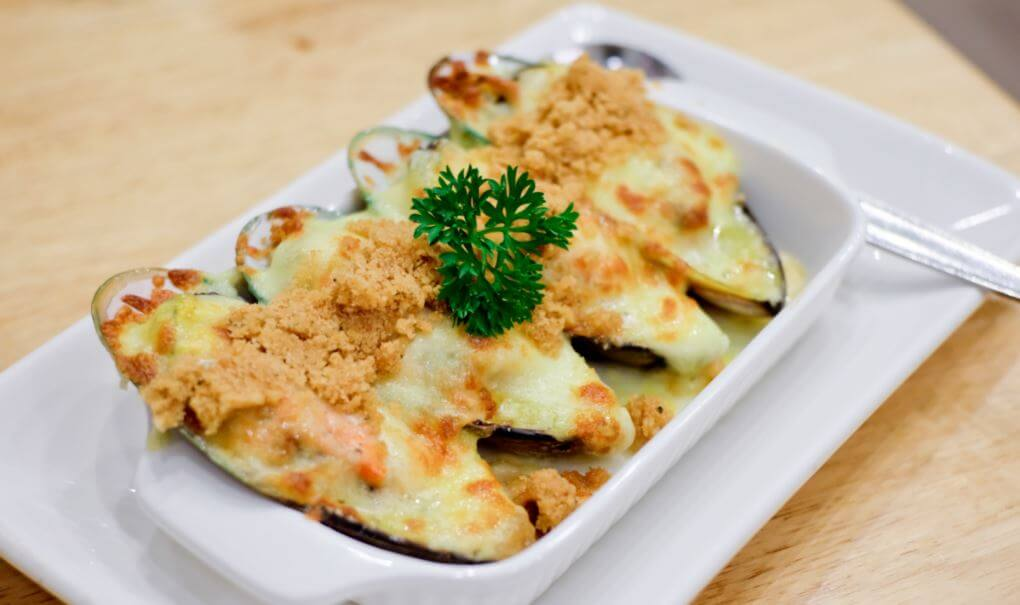Ricette ricche di Omega 3, cozze gratinate