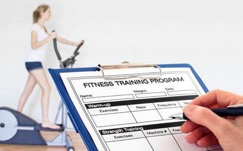 Come definire la vostra routine di allenamento