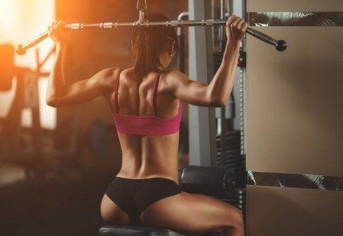 4 esercizi per allenare la schiena