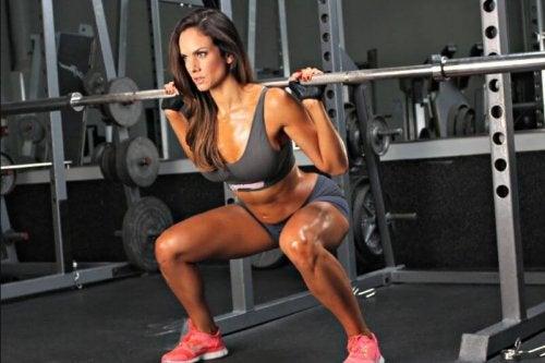 Ottenere risultati con gli squat