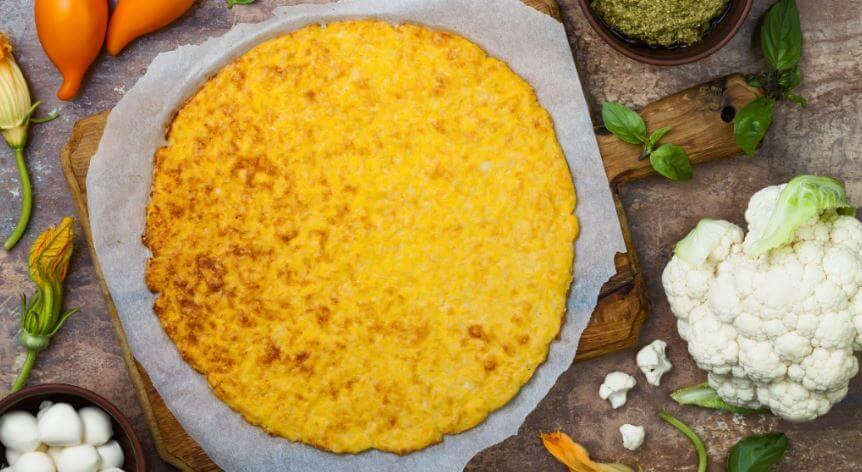 Ricette a base di cavolfiore, pizza