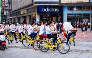bike sharing in città