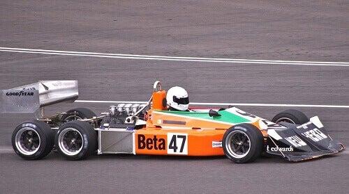 La vettura March 2-4-0 , una delle peggiori F1 della storia