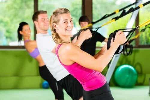 Routine di base per esercizi in sospensione