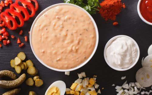 La salsa rosa è una delle migliori salse fredde