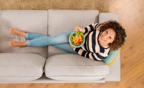 Le verdure aiutano a eliminare gli alimenti trasformati