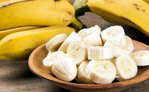 Banane fatte a pezzi