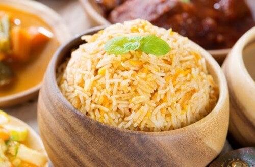 Due buonissime ricette con il riso basmati