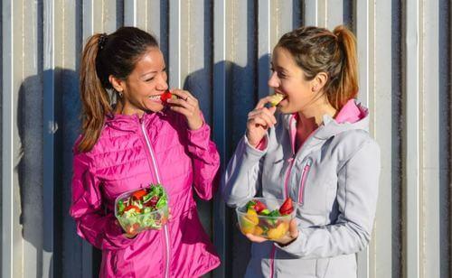 Tipi di alimentazione a seconda dell'obiettivo sportivo
