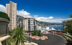 Le curve del circuito urbano di Monte Carlo