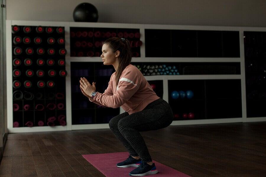 donna fa squat