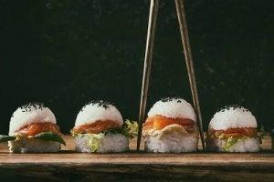 Hamburger di riso