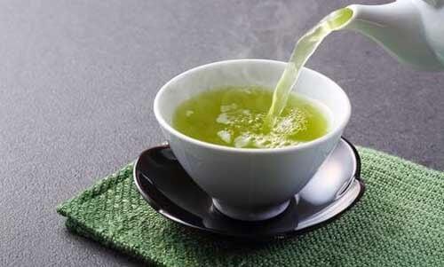 Quello verde è uno tipi di tè