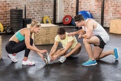Infortuni nel CrossFit: come affrontarli