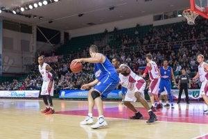 Partita di basket.