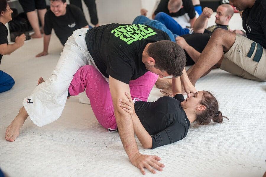 Incontro di jiu jitsu