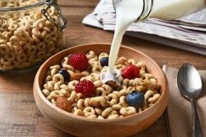 Cereali con frutta
