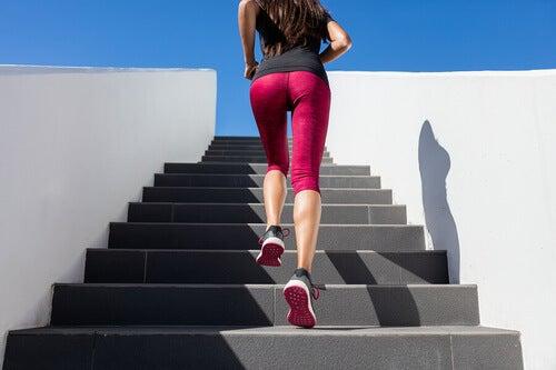 In forma con gli sprint sulle scale