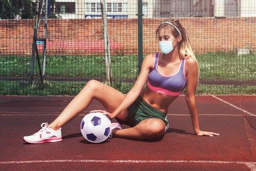 Prevenzione del coronavirus nell'ambito sportivo