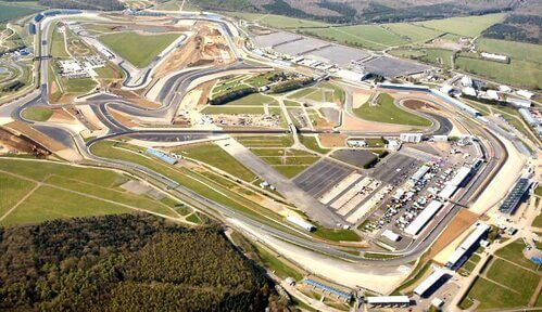 Pista di Silverstone UK