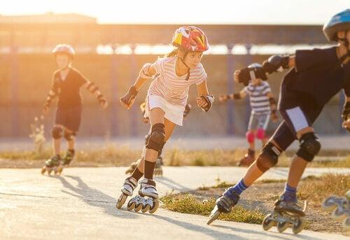 Sport sui pattini: il pattinaggio in linea