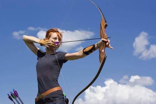 Sport tiro con l'arco