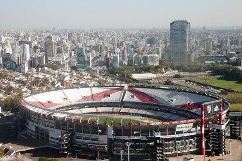grande stadio in Argentina