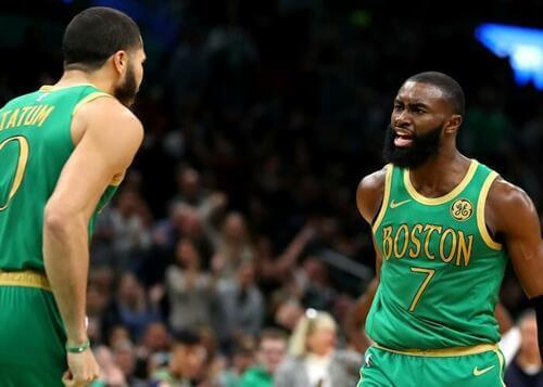 Boston Celtics durante una partita