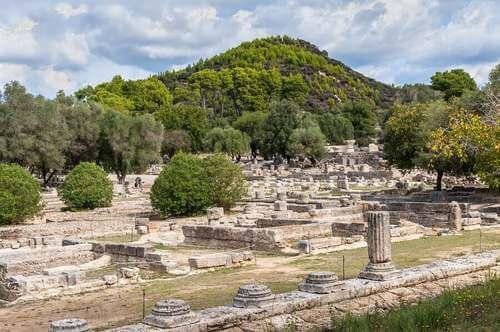 Rovine greche a Olimpia