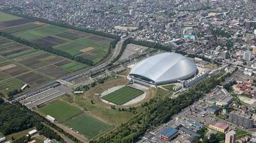 Sapporo Dome.