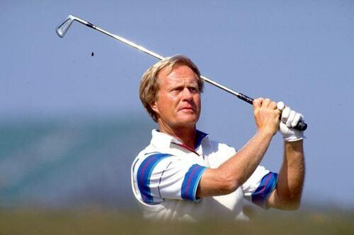 Jack Nicklaus, uno dei membri della triade del golf.