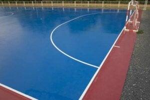 Palestra in un centro sportivo