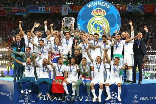 Real Madrid vince la Uefa Champions League.