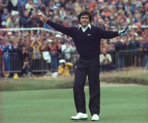 Seve Ballesteros, un altro dei migliori giocatori di golf della storia.