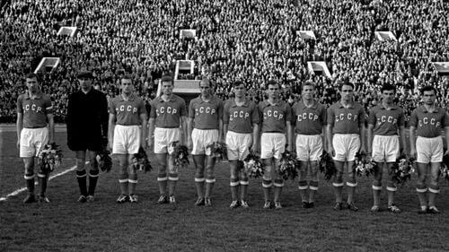 Unione Sovietica nella UEFA 1960.