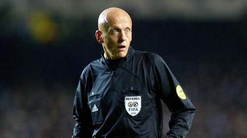 Pierluigi Collina allo stadio.