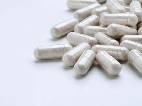 Probiotici in pillole.