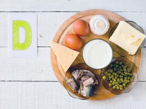 Latticini e uova sono alimenti che contengono vitamina D.