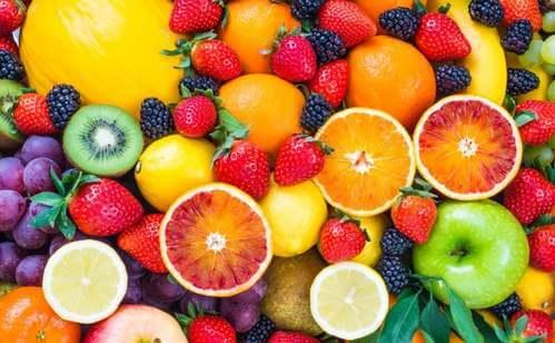 Macedonia di frutta.
