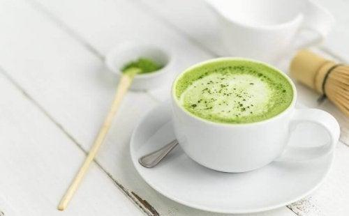 抹茶:体のための良い選択