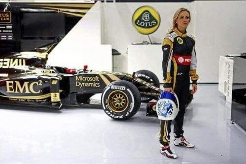 フォーミュラワン:女性のF1ドライバー カルメン・ヨルダ