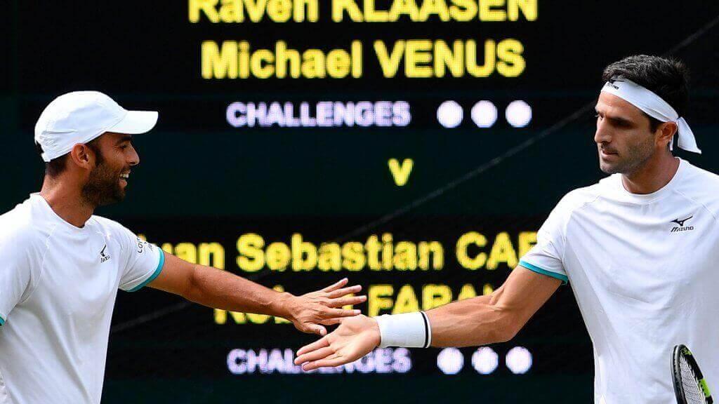 ATPダブルス:世界のトップペア カバルとファラ選手