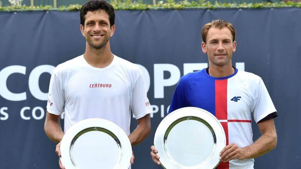 ATPダブルス:世界のトップペア クボットとメロ選手