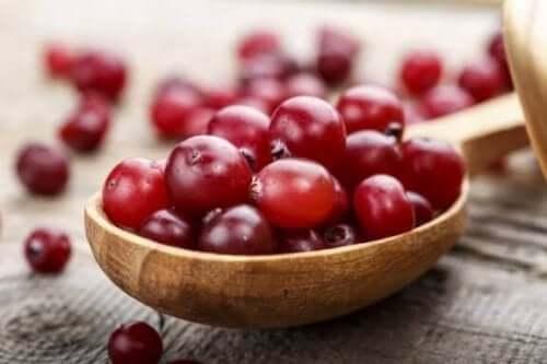 クランベリーの特性と健康上のメリット
