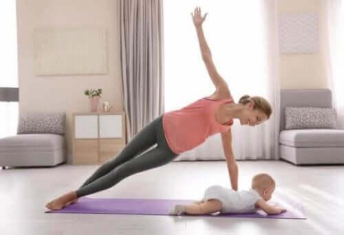 産後 運動