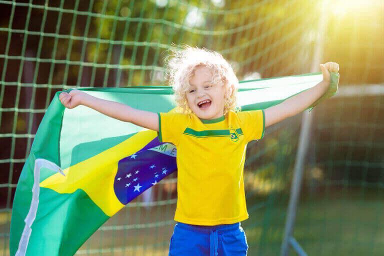 世界チャンピオンに5回輝いたサッカーブラジル代表チーム