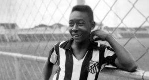世界チャンピオンに5回輝いたサッカーブラジル代表チーム ペレの若い頃