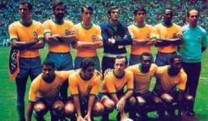 世界チャンピオンに5回輝いたサッカーブラジル代表チーム 1970年のチーム