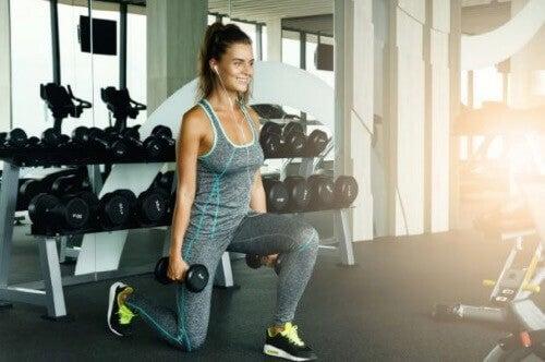 다리와 엉덩이 근육을 강화하는 운동