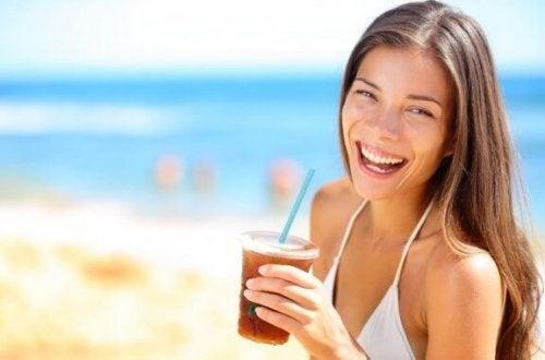아이스티 음료는 정말 건강에 좋을까?